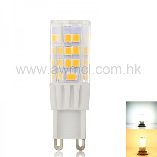 LED G9 Bulb 3.5 W ETL AC 120 or 230V 45  SMD2835 Chip Warm White Cool White 6Pack