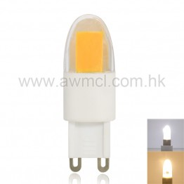 LED G9 Bulb 2.5 W AC 120 or 230V 1 PC Epistar COB Chip