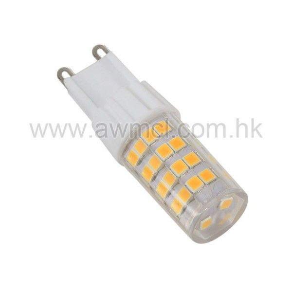 LED Ceramic Bulb G9 5W 51 PCS 2835 SMD AC120V AC230V Light 6Pack