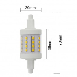 AC85-265V R7S LED 5w 400-500lm  2835 SMD led superbright leds 1Pack 6Pack