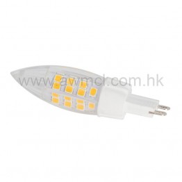 G9 Base LED Bulb 45*SMD2835 Chip 3.5 W AC 120V or 230V 6Pack