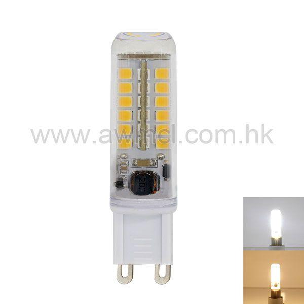G9 Base LED Bulb 51*SMD2835 Chip  2.3 W AC85-265V Lamp No Flicker 6Pack