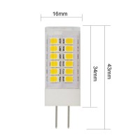 LED Bulb G4 SMD2835*45 Chip  1 PCS 3.5 W AC120V or 230V Lamp High Voltage