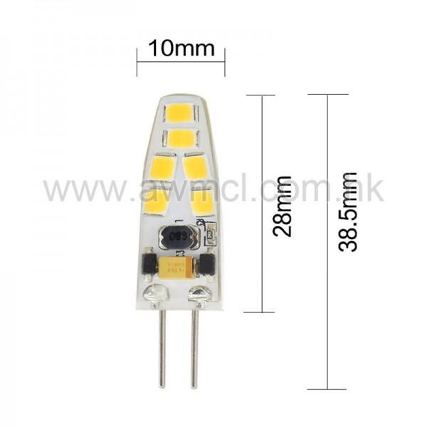 LED Bulb G4 12 PCS 2835 SMD AC DC 12V Light 6Pack