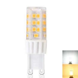 G9 Base LED Bulb 45*SMD2835 Chip 3.5 W AC 120V or 230V RA90 6Pack