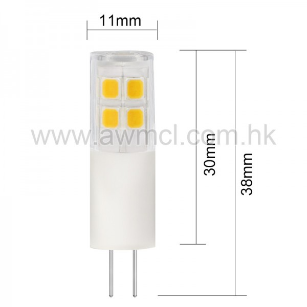 Epistar LED Bulb G4 1.5 W AC DC 12V Light 6Pack