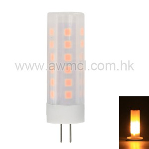 Hot sale G4 LED Fire Flame Light DC8-30V Flickering Emulation Fire Lights 2W Decorative Lamp