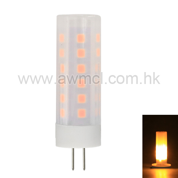 Hot sale G4 LED Fire Flame Light DC8-30V Flickering Emulation Fire Lights 2W Decorative Lamp 6Pack