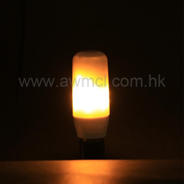 New Arrival E27 E14 Flame Effect 85-265V Flickering Led Bulb Light 1Pack 6Pack