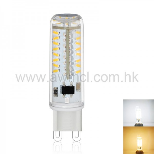 LED Corn Bulb G9 3W 70 PCS 3014 SMD AC120V or AC230V Light ETL 6Pack