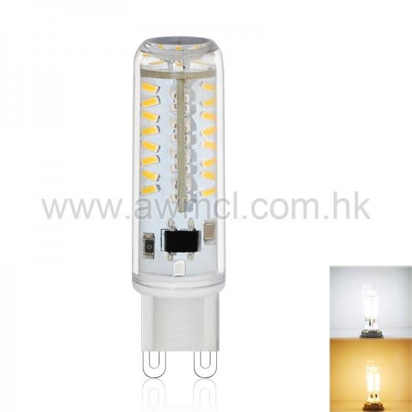 LED Corn Bulb G9 3W 70 PCS 3014 SMD AC120V or AC230V Light ETL 6Pack