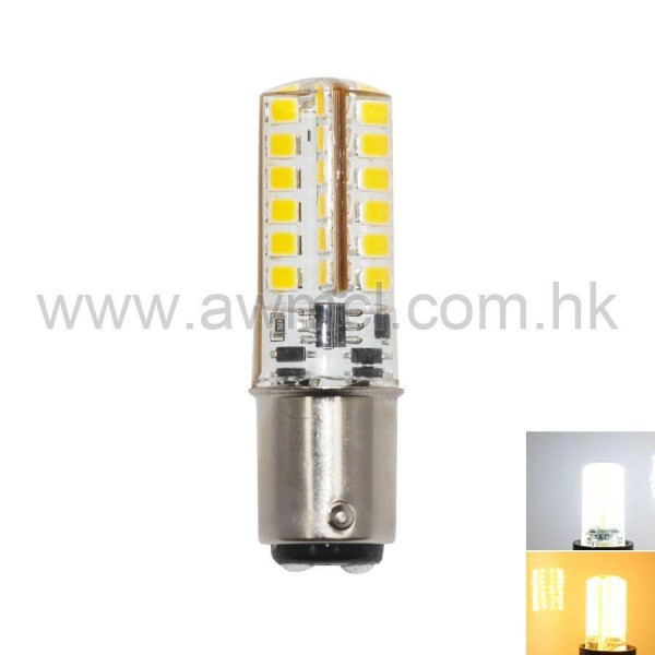 LED Corn Bulb BA15D 3W 48 PCS 2835 SMD AC DC 12V Light