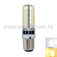 LED Corn Bulb BA15D 3W 72 PCS 3014 SMD AC120V or AC230V Light