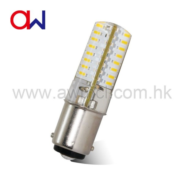 LED Corn Bulb BAY15D 2.5W 64 PCS 3014 SMD AC120V or AC230V Light