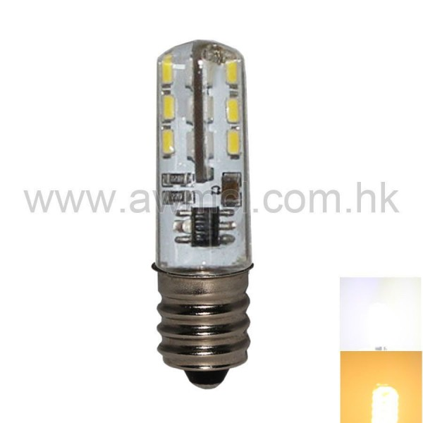 LED Corn Bulb E10 1.5W 24 PCS 3014 SMD DC 2.7-6V Light