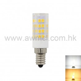 LED Ceramic Bulb E12 4W 51 PCS 2835 SMD AC120V AC230V Light