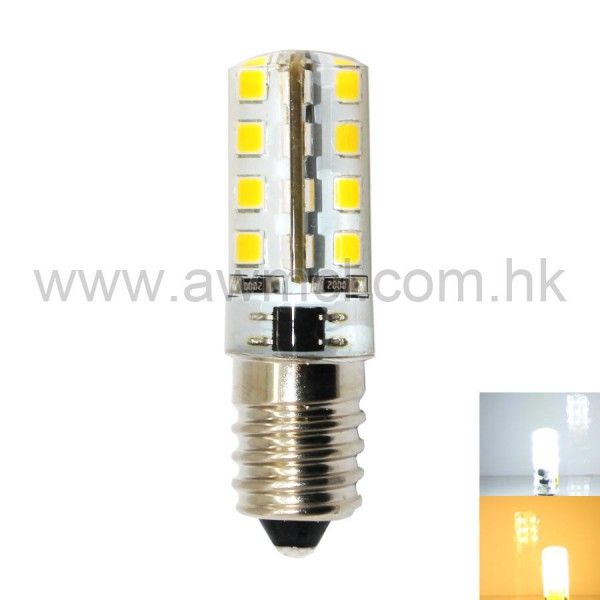 LED Corn Bulb E14 3W 32 PCS 2835 SMD AC120V or AC 230V Light