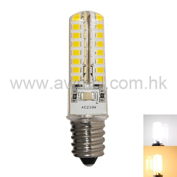 LED Corn Bulb E14 4W 64 PCS 2835 SMD AC120V or AC 230V Light