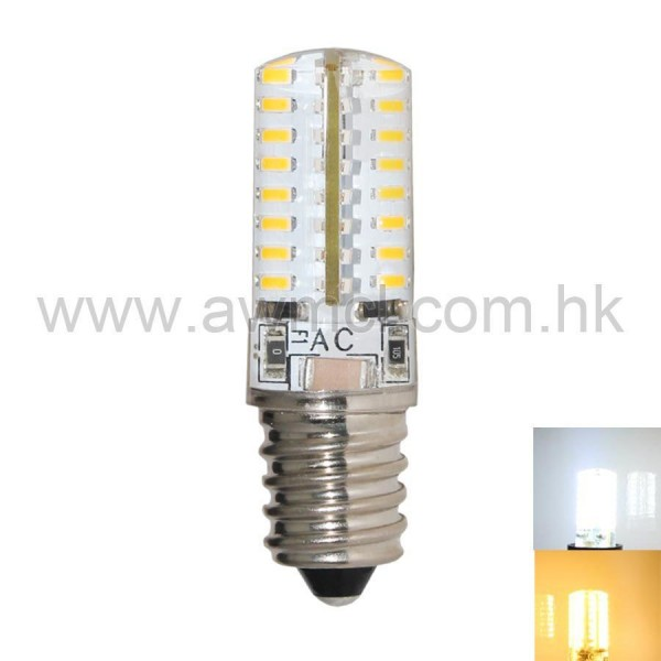 LED Corn Bulb E14 2.5W 64 PCS 3014 SMD AC120V or AC 230V Light