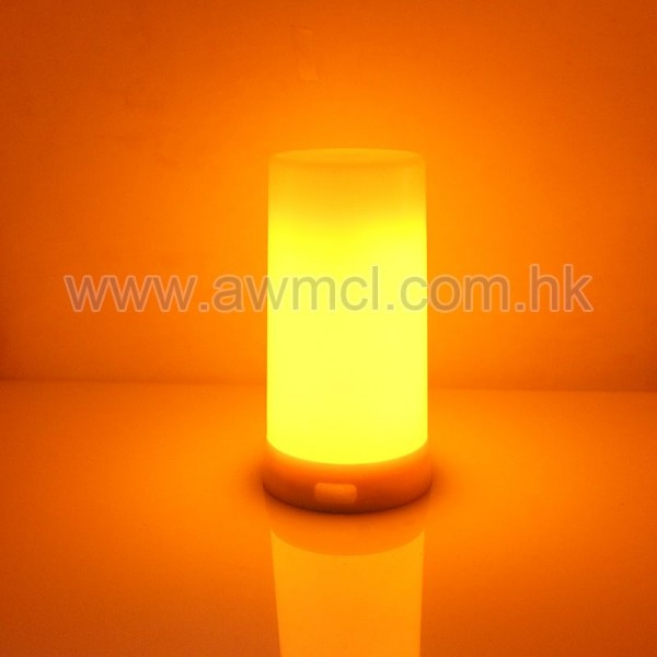 Home Decorative Effect Fire Lamps Led Flickering Flame Bulb  For table 1Pack 6Pack