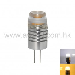 Aluminum LED G4 1.5W 1PC COB DC 12V Light 6Pack