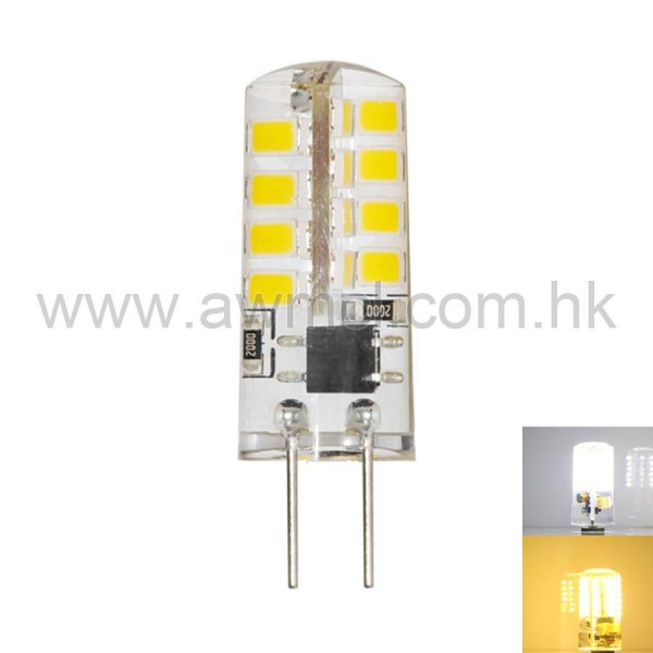 LED Bulb G4 2W 32 PCS 2835 SMD AC120V or AC230V Light 6Pack