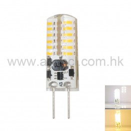 LED Corn Bulb G4 3W 48 PCS 3014 SMD AC DC 12V Light 6Pack