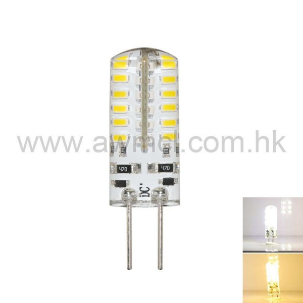 LED Corn Bulb G4 3W 48 PCS 3014 SMD DC 12V Light 6Pack