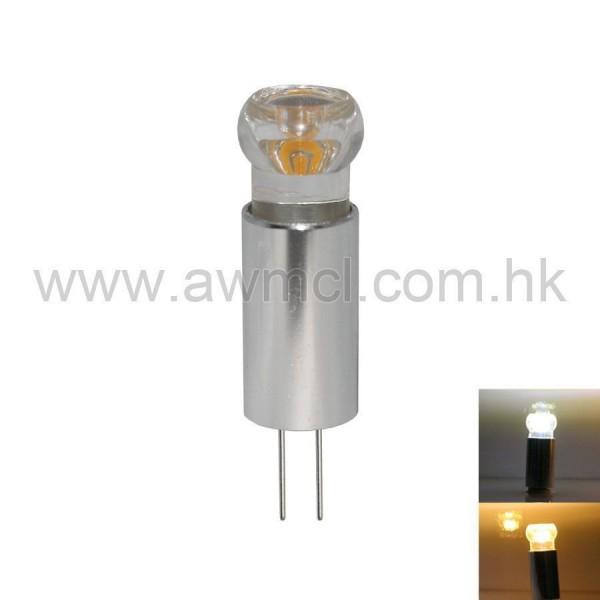 LED G4 Aluminum 1.5W 1PC COB DC 12V Light 6Pack