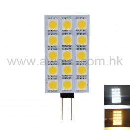 PCB LED Light G4 2.5W 15PCSx5050 SMD DC12V Light 6Pack