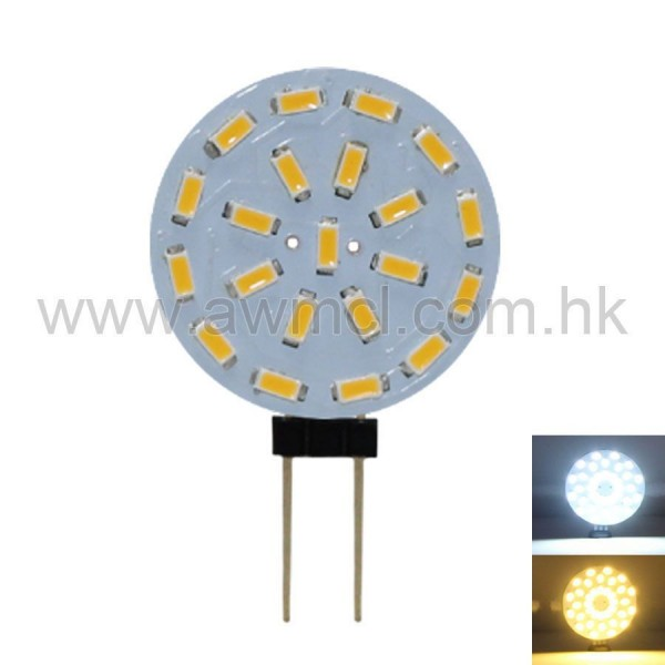 PCB LED Light G4 1.5W 21PCSx3014 SMD ACDC12V Light 6Pack