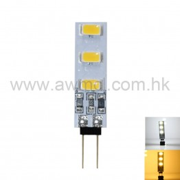 PCB LED Light G4 1W 6x5730 SMD 2700-3200K/6000-7000K DC12V Light 6Pack
