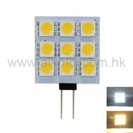 PCB LED Light G4 1.5W 9PCSx5050 SMD DC12V Light 6Pack