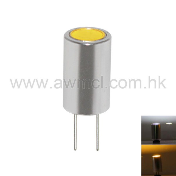 LED Aluminum G4 1.5W 1 PC COB DC 12V Light 6Pack