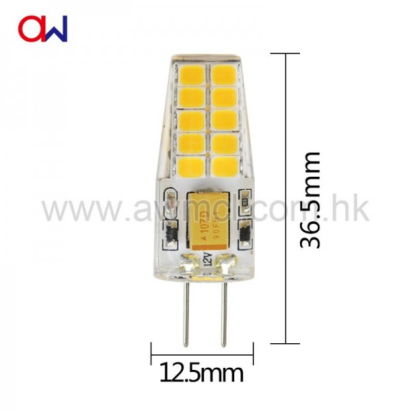 LED Bulb G4 SMD2835 AC DC 12V Light 6Pack