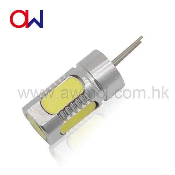 Aluminum LED G4 5W 5PCS COB DC 12V Light 6Pack