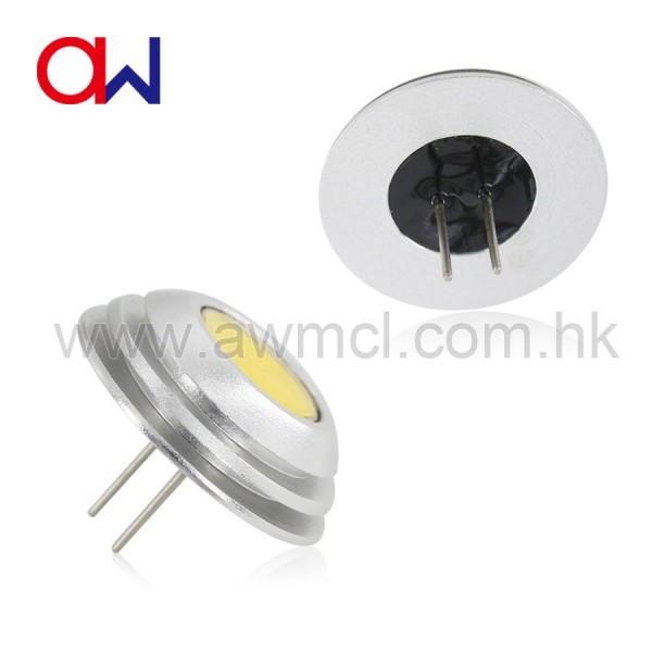 LED G4 Aluminum 2W 1xCOB DC 12V Light 6Pack