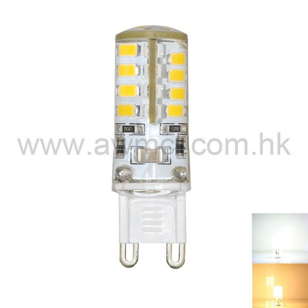 LED Corn Bulb G9 3W 36 PCS 2835 SMD AC120V or AC230V Light 6Pack