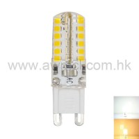LED Corn Bulb G9 3W 48 PCS 2835 SMD AC120V or AC230V Light 6Pack