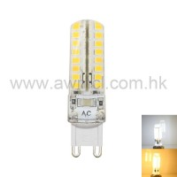 LED Corn Bulb G9 4W 64 PCS 2835 SMD AC 230V Light 6Pack