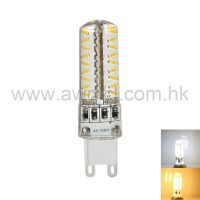 LED Corn Bulb G9 3W 72 PCS 3014 SMD AC120V or AC230V Light 6Pack