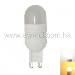 LED Ceramic Bulb G9 3W 5 PCS 3030 SMD AC120V or AC230V Light