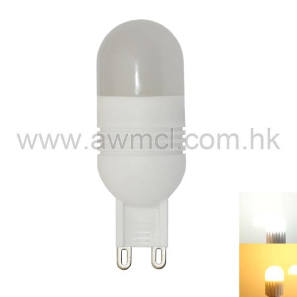 LED Ceramic Bulb G9 3W 5 PCS 3030 SMD AC120V or AC230V Light 6Pack