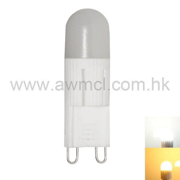 LED Ceramic Bulb G9 1.5W 1 PCS COB AC230V Light 6Pack