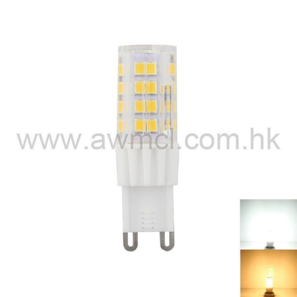 💡LED Ceramic Bulb G9 5W 51 PCS 2835 SMD AC120V AC230V Light 6Pack