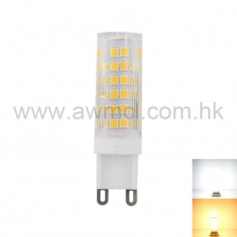 LED Ceramic Bulb G9 7W 75 PCS 2835 SMD AC120V AC230V Light
