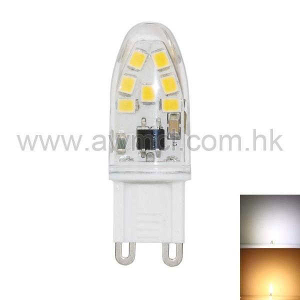 LED Bulb 1.5W G9 14 PCS 2835 SMD AC 230V Light 6Pack