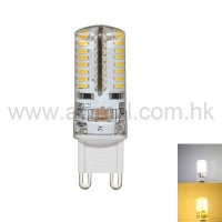 LED Corn Bulb G9 2.5W 64 PCS 3014 SMD AC120V or AC230V Light 6Pack