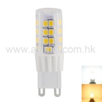 LED G9 Bulb 3.5 W ETL AC 120 or 230V 45 PC Housing SMD2835 Chip Warm White Cool White