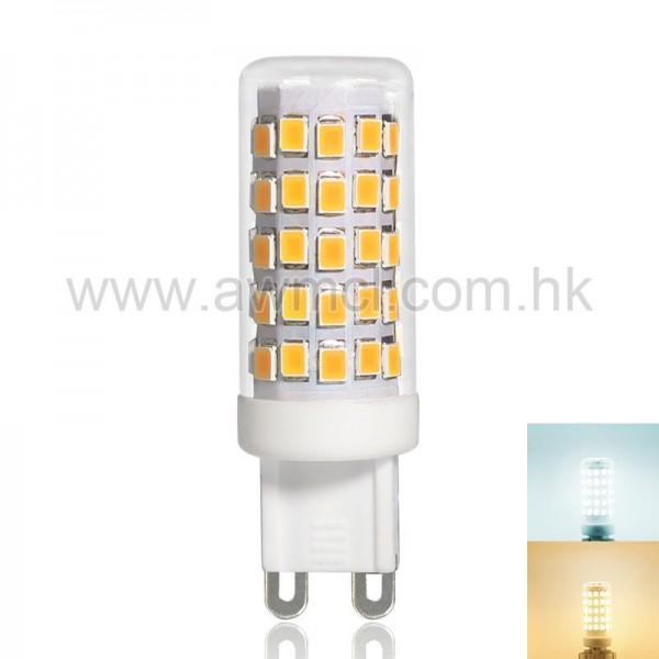 LED G9 Bulb 5 W ETL AC 120 or 230V 64  SMD2835 Chip Warm White Cool White 1 Pack 6Pack